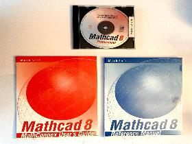 MATHCAD 8 PRO -program, +Manual och User´s Guide